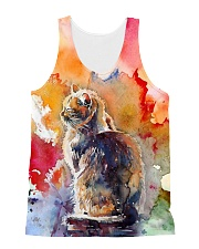 Cat Tee All-Over Unisex Tank tile