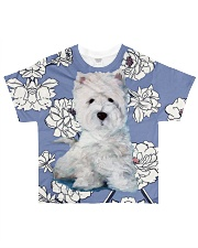 West highland white terrier Tee All-over T-Shirt front