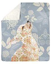 "Chihuahua Tee Sherpa Fleece Blanket - 50"" x 60"" thumbnail"