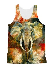 Perfect T shirt for Elephant lovers All-over Unisex Tank thumbnail