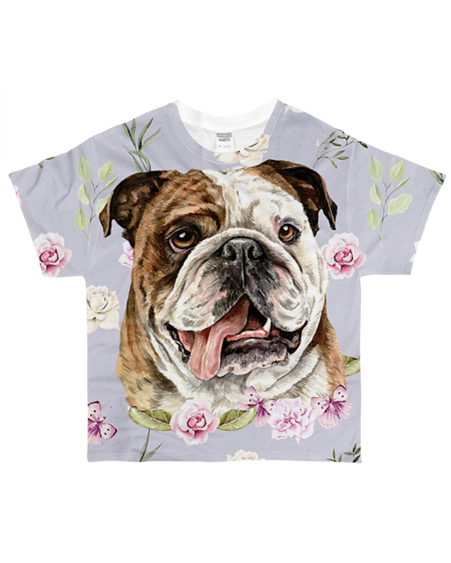 Bulldog Tee All-over T-Shirt