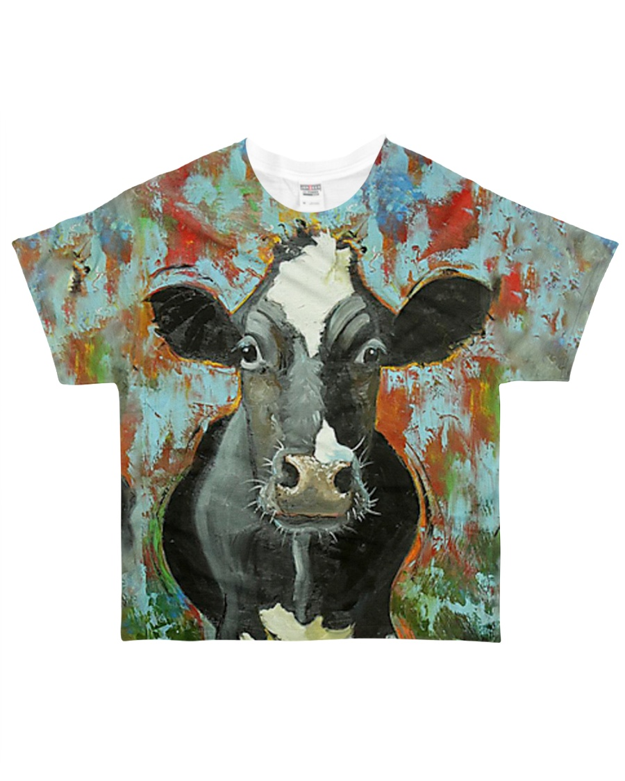 Perfect Gift For Cow Lovers All-over T-Shirt