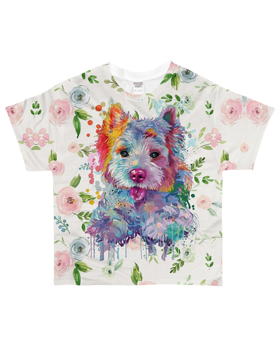 West highland white terrier Tee  All-over T-Shirt