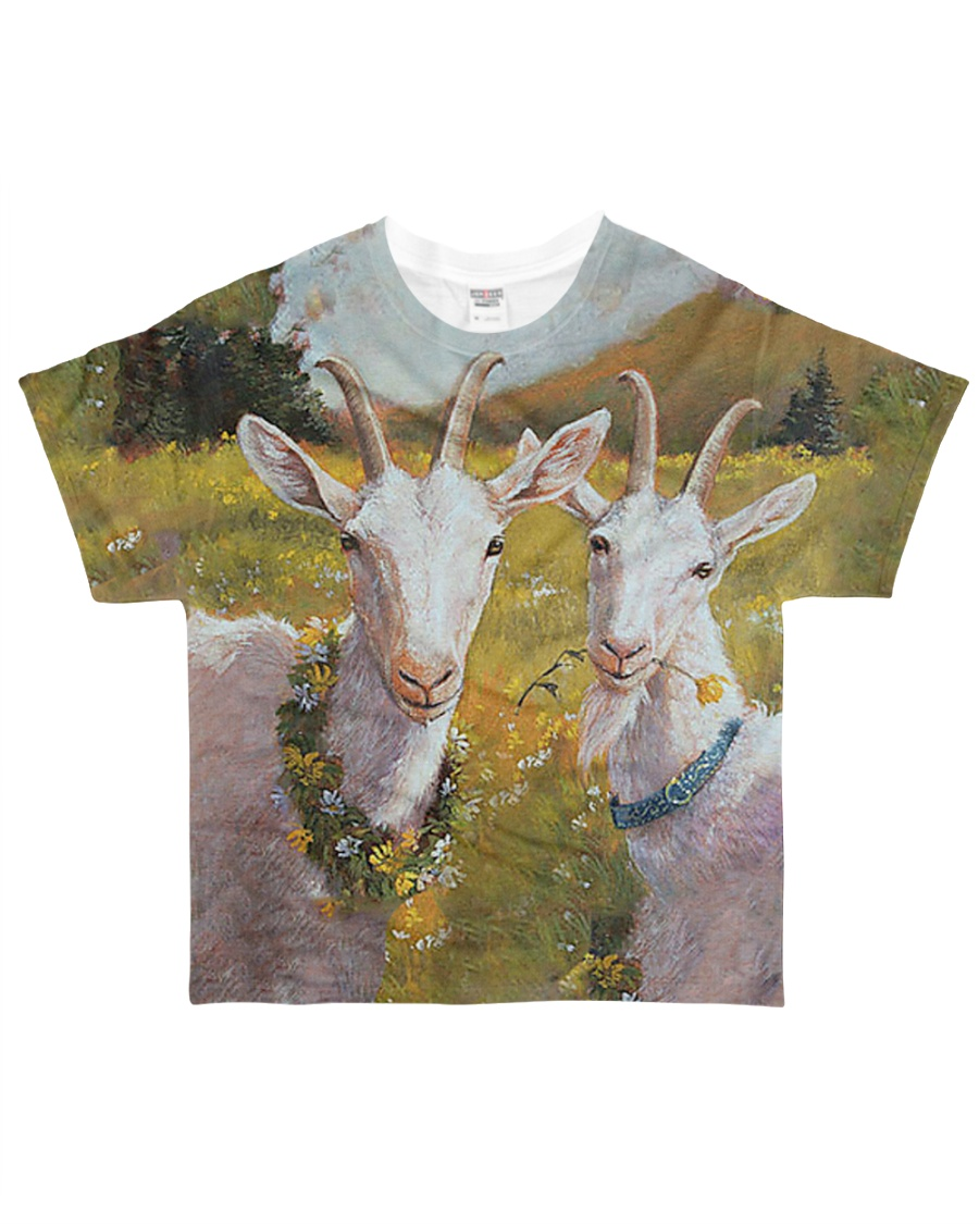 Perfect Gift For Goat Lovers All-over T-Shirt