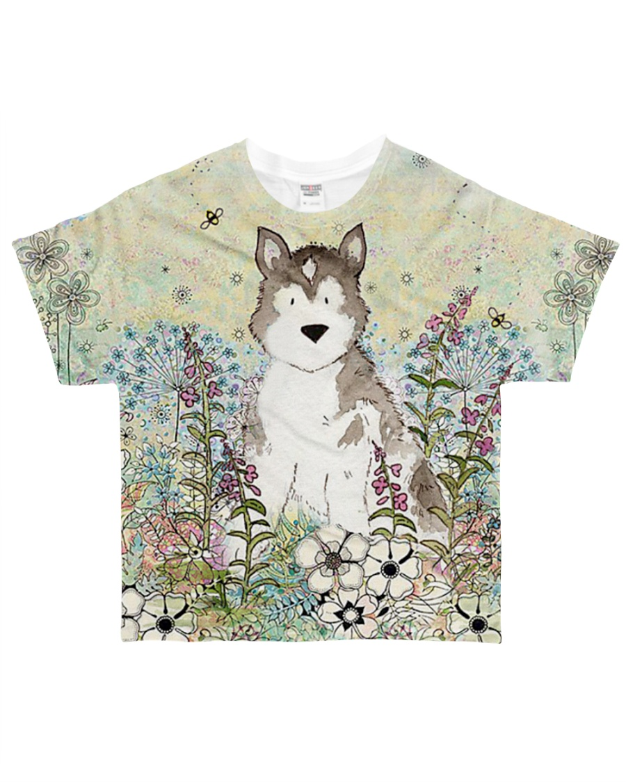 Perfect T shirt for Siberian Husky lovers All-over T-Shirt