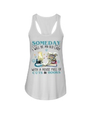 Cat Tee Ladies Flowy Tank thumbnail