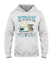 Cat Tee Hooded Sweatshirt front