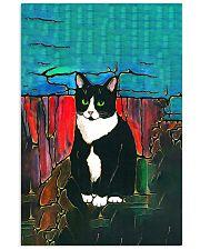 Cat Tee Vertical Poster tile