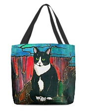 Cat Tee All-Over Tote tile