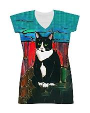 Cat Tee All-Over Dress tile