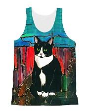 Cat Tee All-over Unisex Tank thumbnail