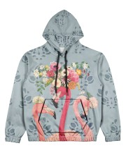 Perfect T shirt for Flamingo lovers Women's All Over Print Hoodie tile