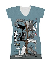 For Cats Lover All-over Dress thumbnail