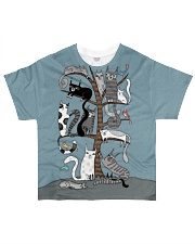 For Cats Lover All-over T-Shirt front