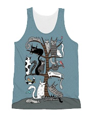 For Cats Lover All-over Unisex Tank thumbnail