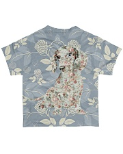 For Dachshund Lovers All-over T-Shirt back