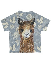 Perfect T shirt for Alpaca and Llama lovers All-over T-Shirt back