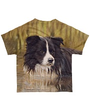 Border Collie Tee All-over T-Shirt back