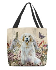 Perfect gift for Golden Retriever lovers All-over Tote thumbnail