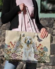 Perfect gift for Golden Retriever lovers Weekender Tote aos-weekender-tote-24x13-lifestyle-front-02