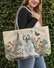Perfect gift for Golden Retriever lovers Weekender Tote aos-weekender-tote-24x13-lifestyle-front-04