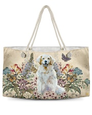 Perfect gift for Golden Retriever lovers Weekender Tote back