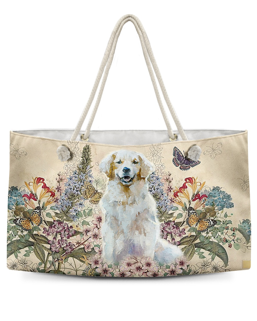 Perfect gift for Golden Retriever lovers Weekender Tote