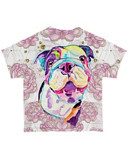 Bulldog Tee All-over T-Shirt back