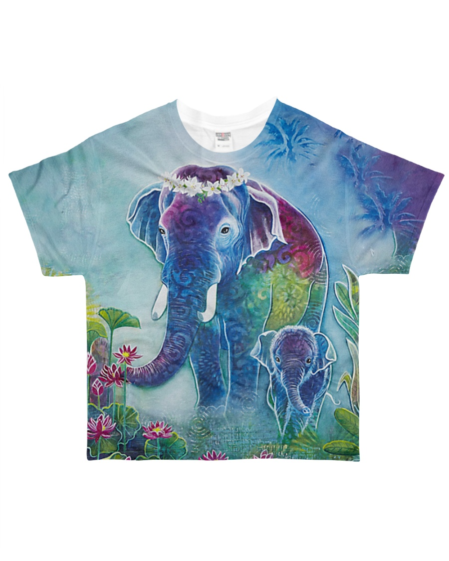 Blue Elephant Shirt All-over T-Shirt