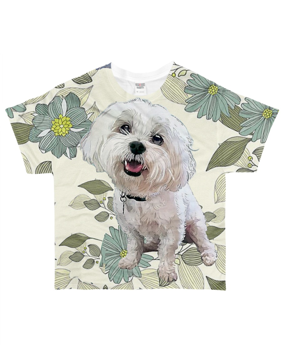 Perfect T shirt for Maltese lovers All-over T-Shirt