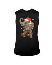 Elephant Christmas Sleeveless Tee thumbnail