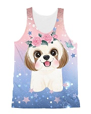 PERFECT T SHIRT FOR SHIH TZU LOVERS All-over Unisex Tank thumbnail