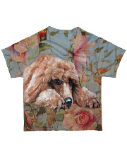 Perfect T shirt for Poodle lovers All-over T-Shirt back
