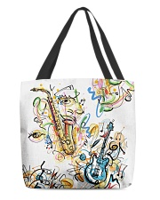 Perfect T shirt for music lovers All-over Tote thumbnail