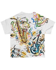 Perfect T shirt for music lovers All-over T-Shirt back