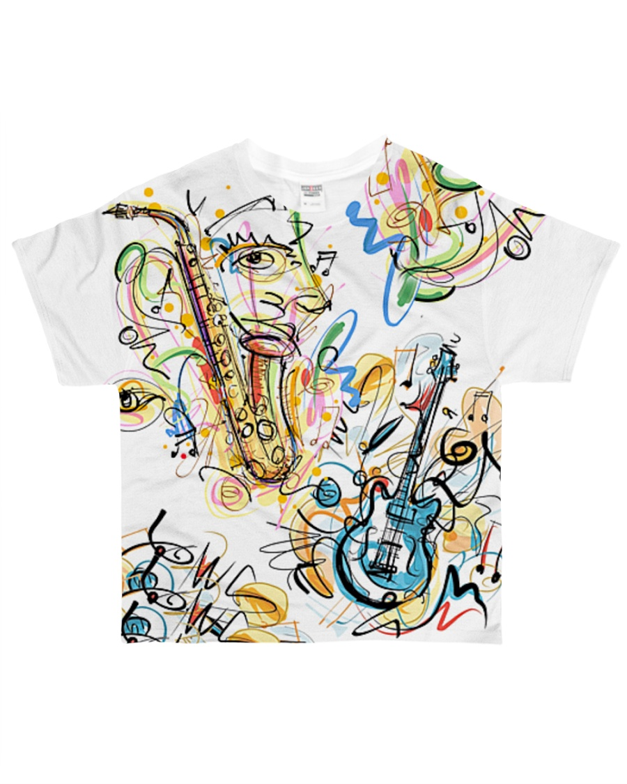 Perfect T shirt for music lovers All-over T-Shirt
