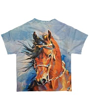 Perfect Gift For Horse Loverss All-over T-Shirt back