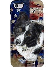 Border Collie Tee Phone Case tile