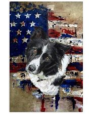 Border Collie Tee Vertical Poster tile