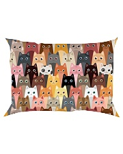 For Cat Lover Rectangular Pillowcase tile