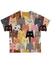 For Cat Lover All-over T-Shirt back