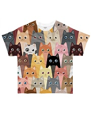 For Cat Lover All-over T-Shirt front