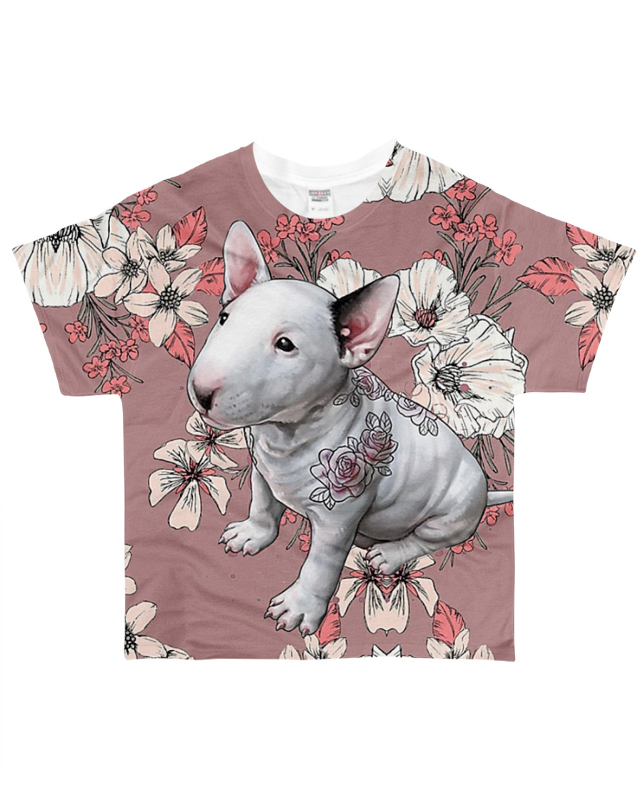 Perfect T shirt for Bull Terrier lovers All-over T-Shirt