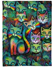 "Perfect Gift For Cat Lovers Large Fleece Blanket - 60"" x 80"" thumbnail"