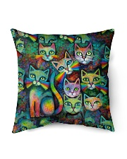 "Perfect Gift For Cat Lovers Indoor Pillow - 16"" x 16"" thumbnail"