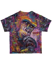 Perfect T shirt for Monkeys lovers All-over T-Shirt back
