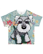 Schnauzer Tee All-over T-Shirt front
