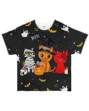 Halloween Cat Tee All-over T-Shirt front