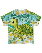 Perfect T shirt for Turtle lovers All-over T-Shirt back