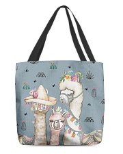 Perfect T shirt for Llama and Alpaca lovers All-over Tote thumbnail